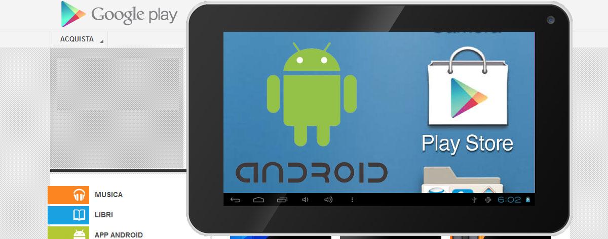 Installazione Google Play Store