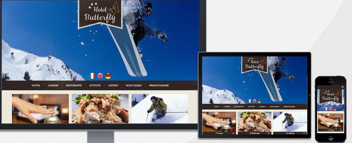 Realizzazione sito web per hotel in montagna