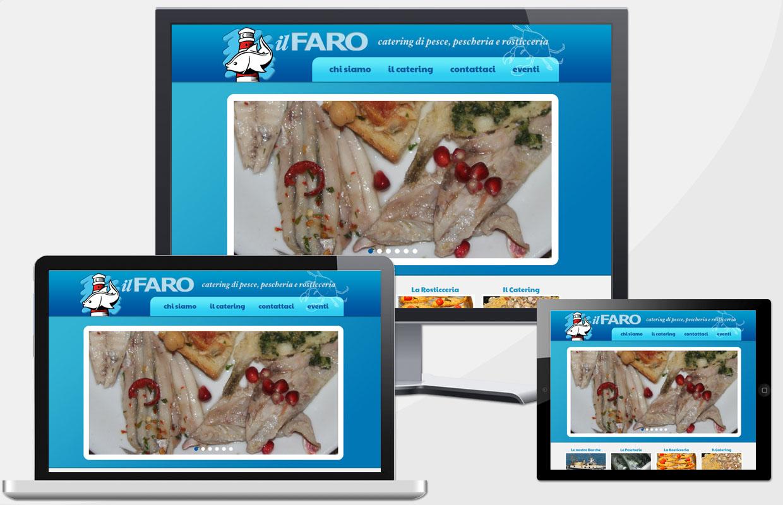 Creazione Sito Web Il Faro Catering