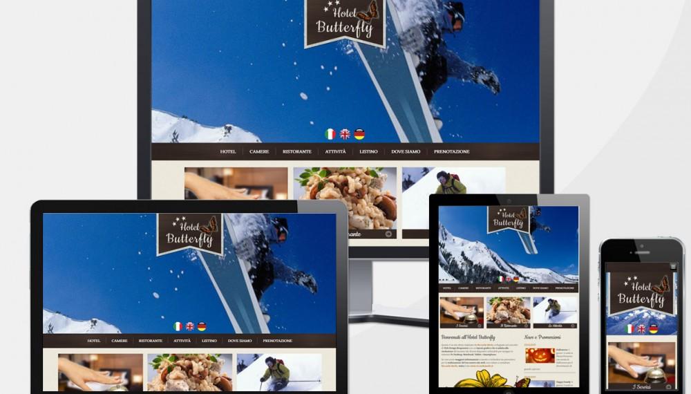 Sito Web Hotel in Montagna