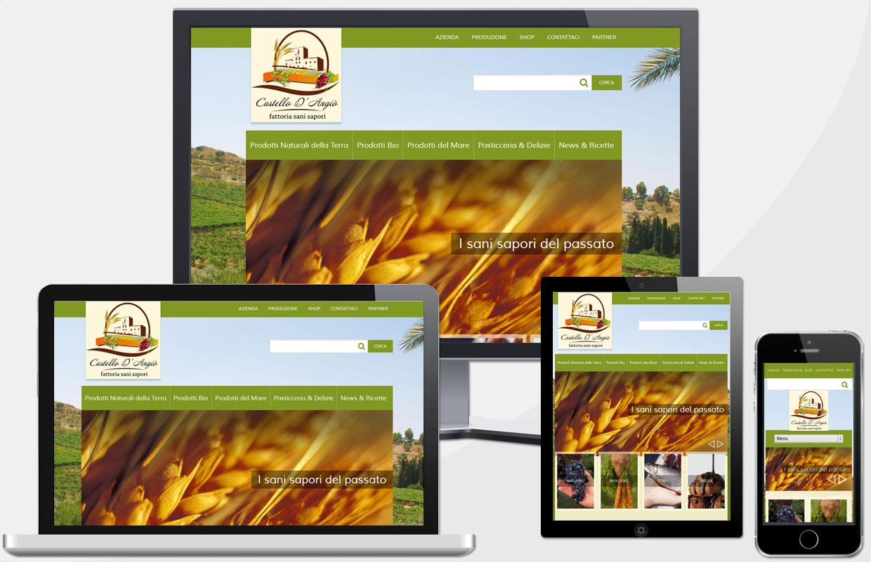 Creazione Sito Web Azienda Prodotti Biologici