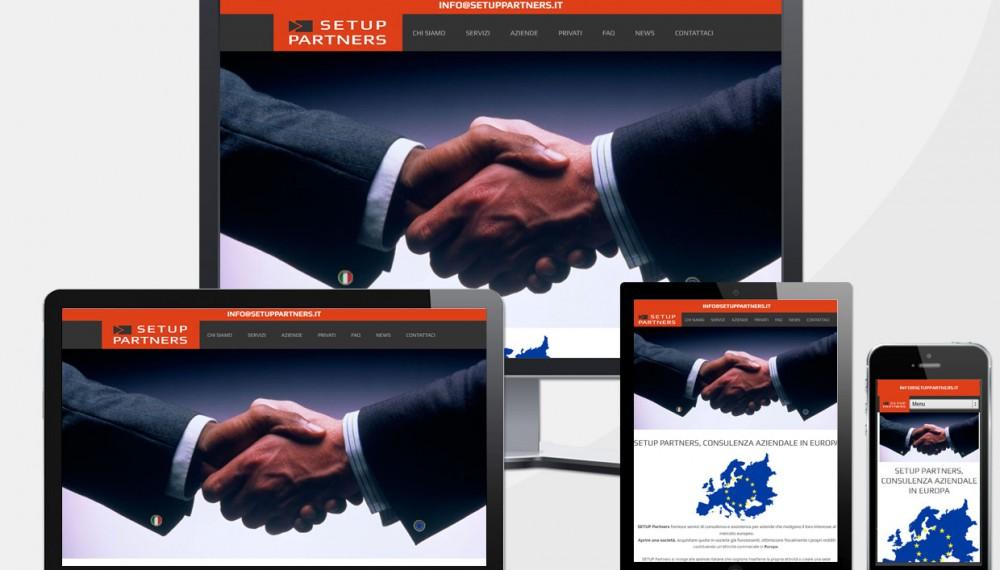Creazione Sito Web Agenzia Consulenza Finanziaria Europa