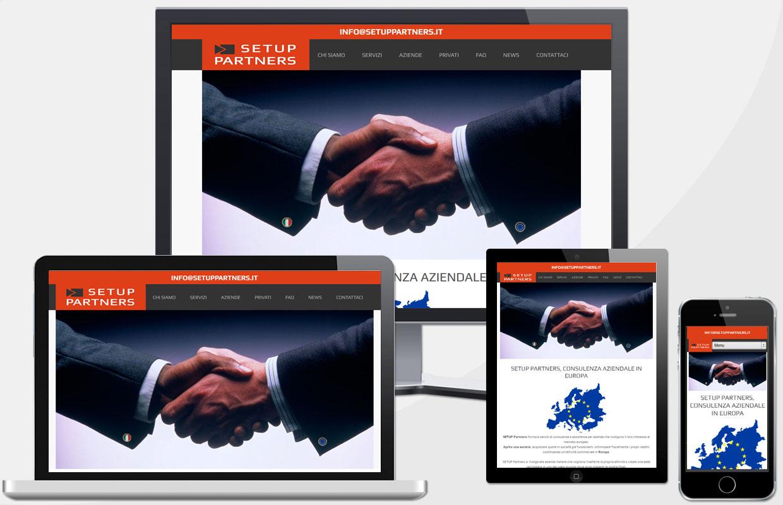 Creazione sito web agenzia consulenza finanziaria