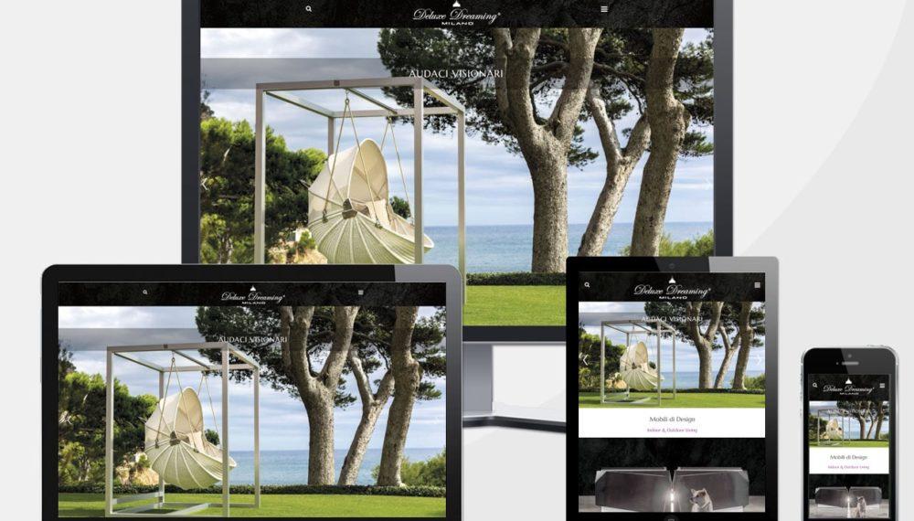 Realizzazione sito web deluxe dreaming milano