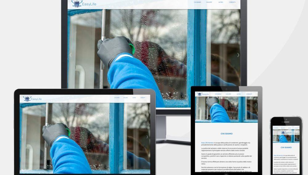 Realizzazione sito web easylifeservice